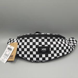 Vans Mini Ward Cross Body Bag Checker Black White